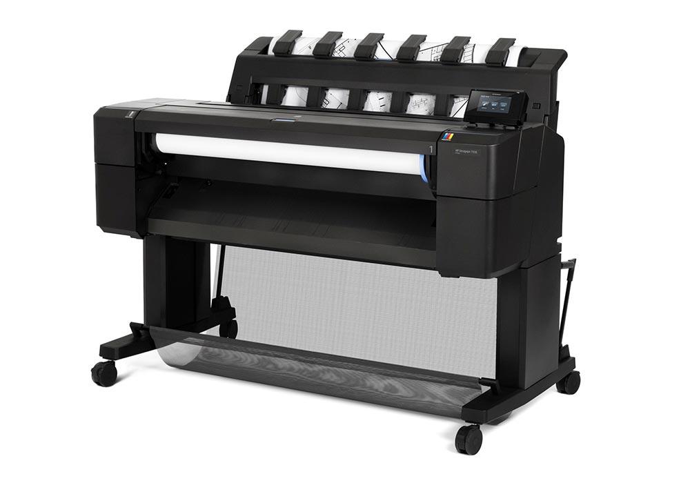 line printers – The HP DesignJet T930 printer series.