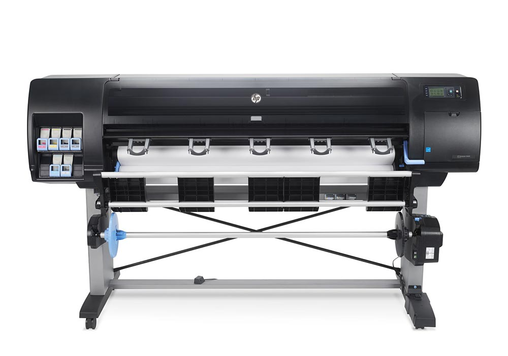 Graphics printer – The HP DesignJet Z6600 production printer.