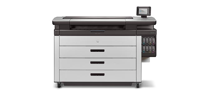 digital printers – HP PageWide XL printers. Expand your capacity with GIS map printing and printing for POS (point-of-sale) display.