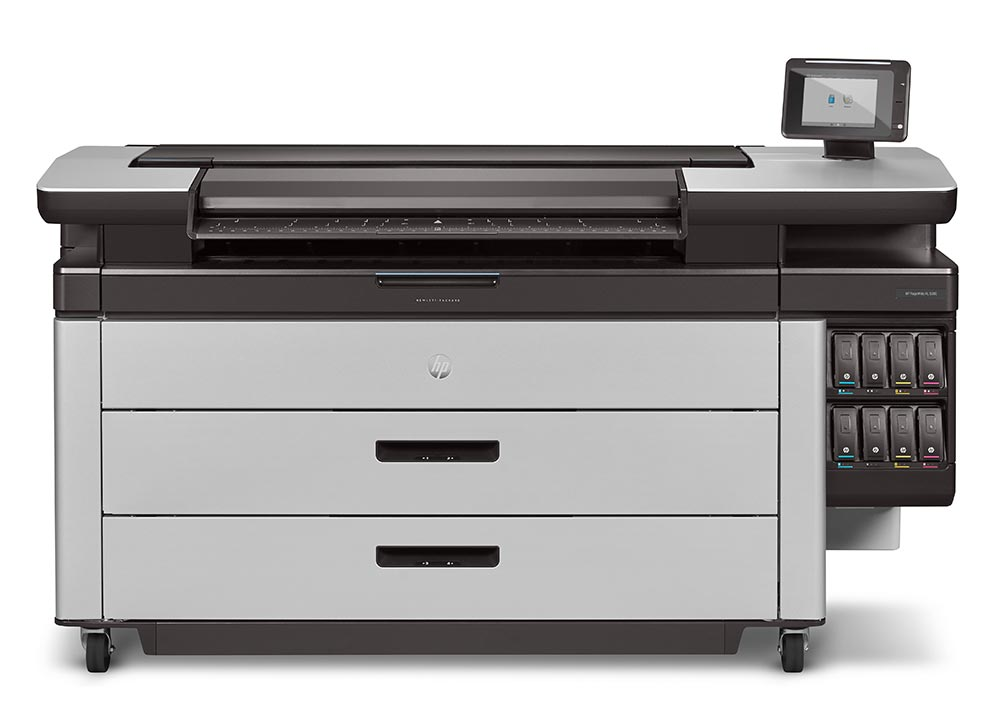 hp pagewide xl – HP PageWide XL 5000 plotter printer series, ideal for GIS applications and map printing.