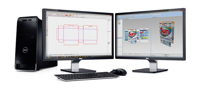 print software – Picador software: a range of packaging and POS CAD software with a vast selection of specialised tools and features.