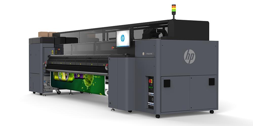 hp large format printers – HP mid- to high-volume printers: The HP Latex 3100 printer.