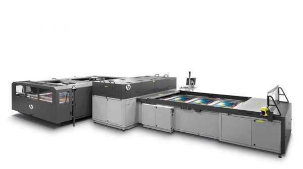 HP Scitex FB7600 industrial press.