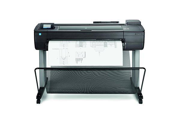 HP DesignJet T730 printer.