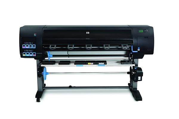 HP DesignJet Z6200 photo production printer.