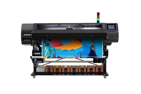 HP Latex 570 printer.