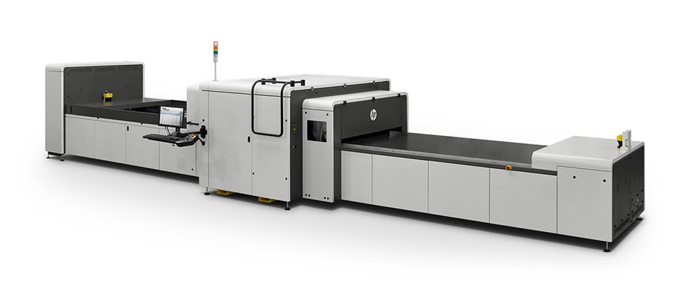 display printing – HP Scitex 9000 industrial press.