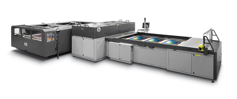 display printing – HP Scitex FB7600 industrial press.