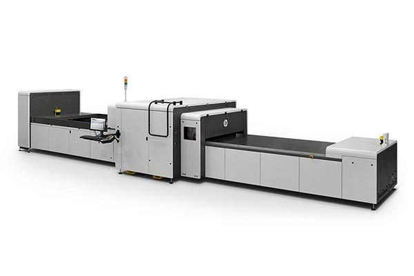 HP Scitex 9000 industrial press.