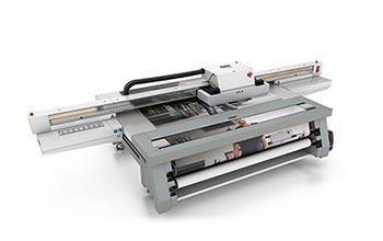uv flatbed printers –Océ Arizona 440 GT.