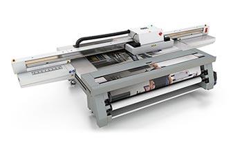 uv flatbed printers –Océ Arizona 440 XT.