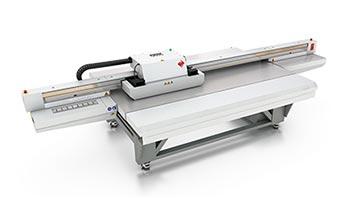 uv flatbed printers –Océ Arizona 460 GT.