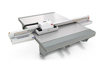 uv flatbed printers – Océ Arizona 480 XT.
