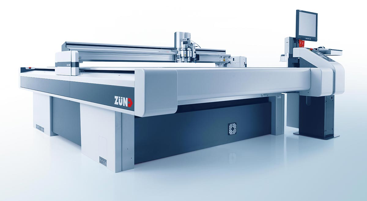 digital cutters –Zünd G3 digital cutter: exceptional productivity and unsurpassed cut quality.