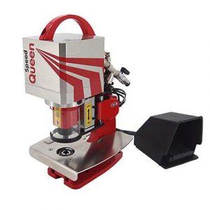 PLASTGrommet Speed Queen semi-automatic eyelet machine.