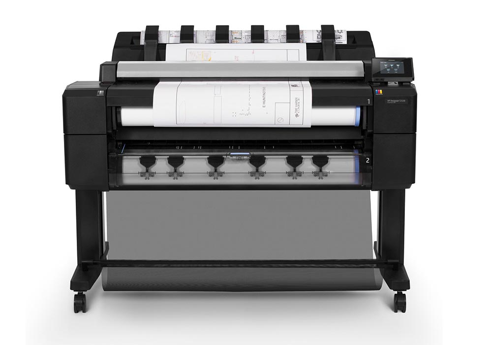 geographic information systems – The HP DesignJet T2530 multifunction printer series.