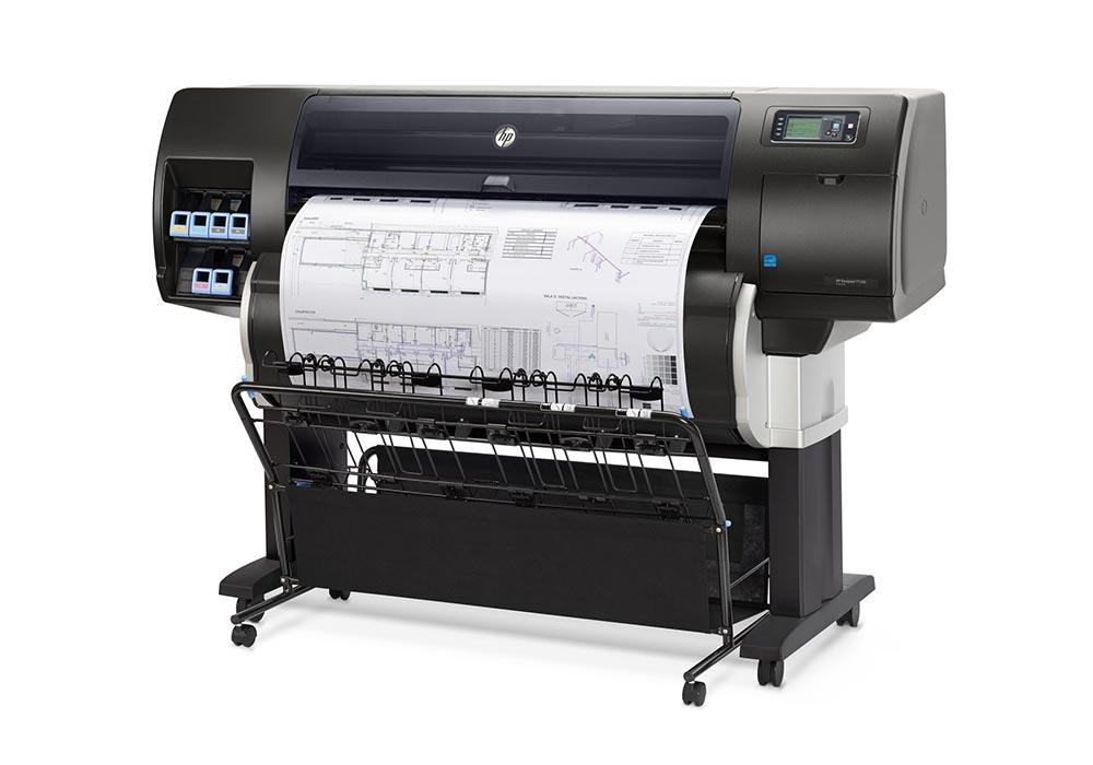 plotter – The HP DesignJet T7200 production printer.