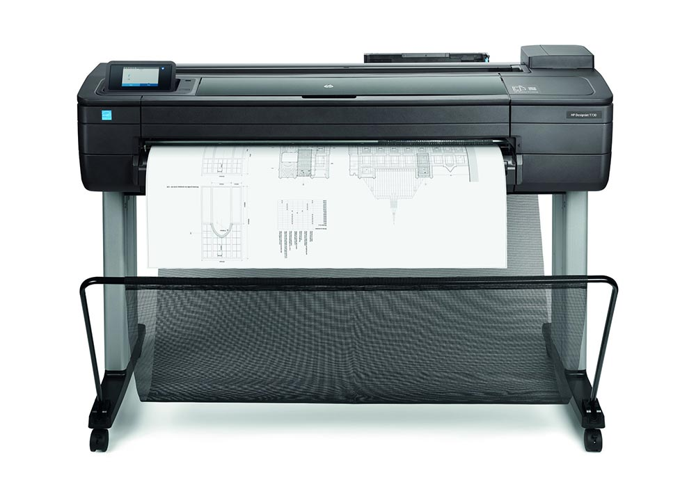 hp printers in south africa – The HP DesignJet T730 printer.