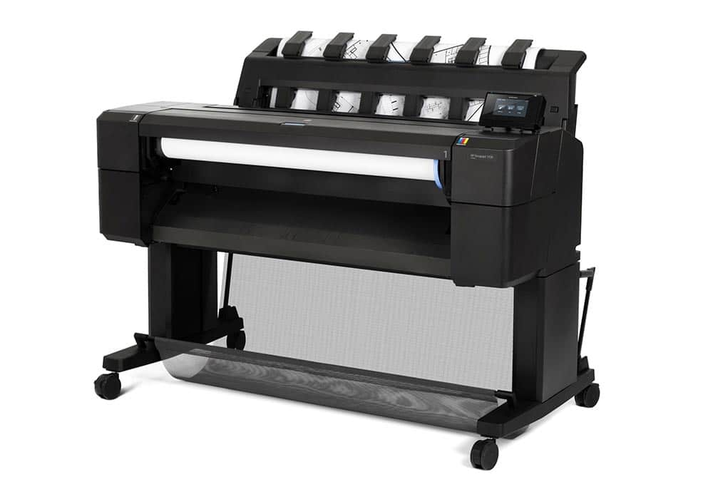cad printers – The HP DesignJet T930 printer series.