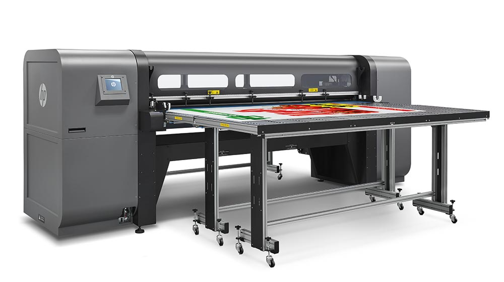 flatbed printers – HP Scitex FB750: boost your profit potential with more versatility.