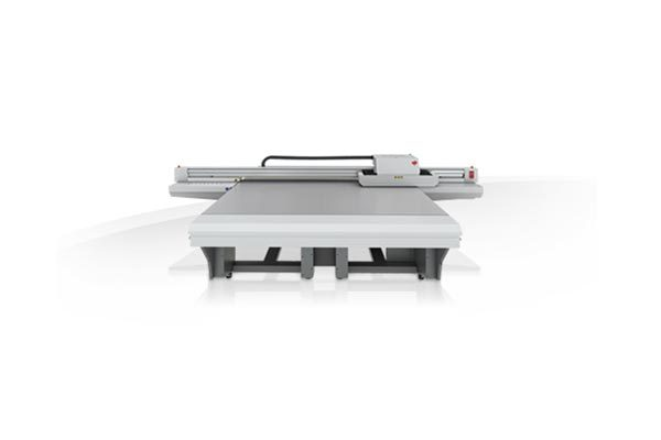 Océ Arizona 1260 XT UV flatbed printer.