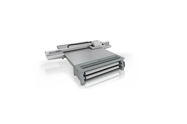 Océ Arizona 1280 XT UV flatbed printer.