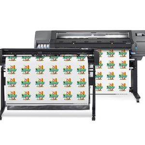 HP Latex 315 print and cut dual-device solution.