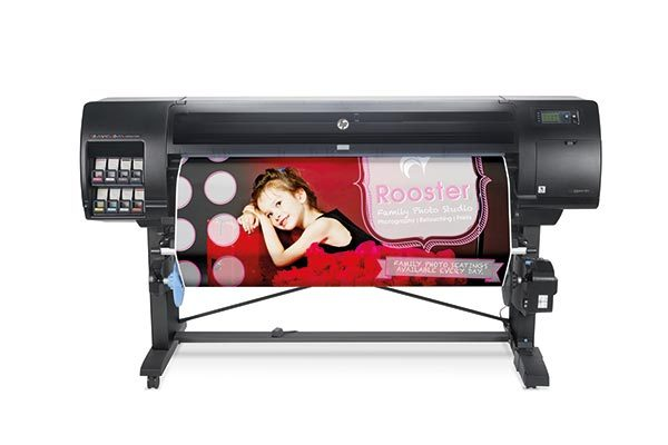 HP DesignJet Z6810 photo production printer series.