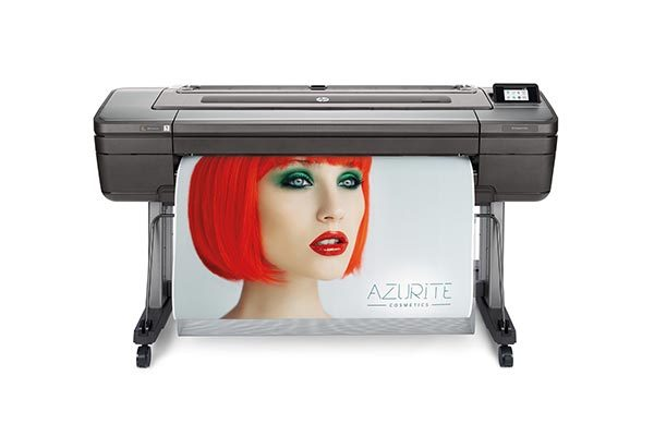 HP DesignJet Z9 44-inch dual-roll PostScript printer.