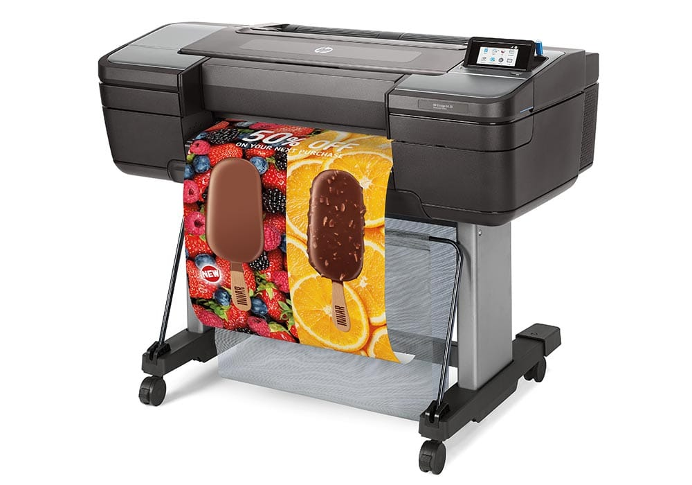 line printers – the HP DesignJet Z6 24-inch PostScript printer.