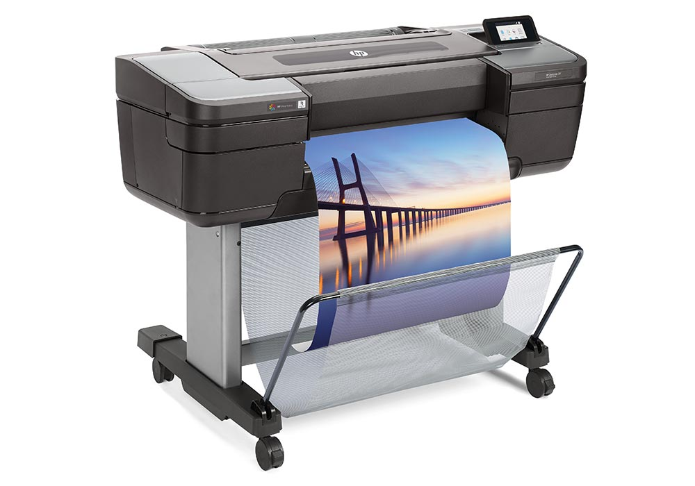 line printers – the HP DesignJet Z9 24-inch PostScript printer.