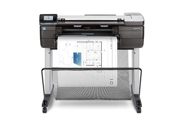 HP DesignJet T830 24-in multi-function printer.