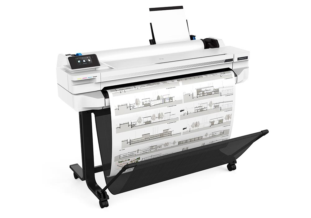 line printers – the HP DesignJet T500 36-in series.