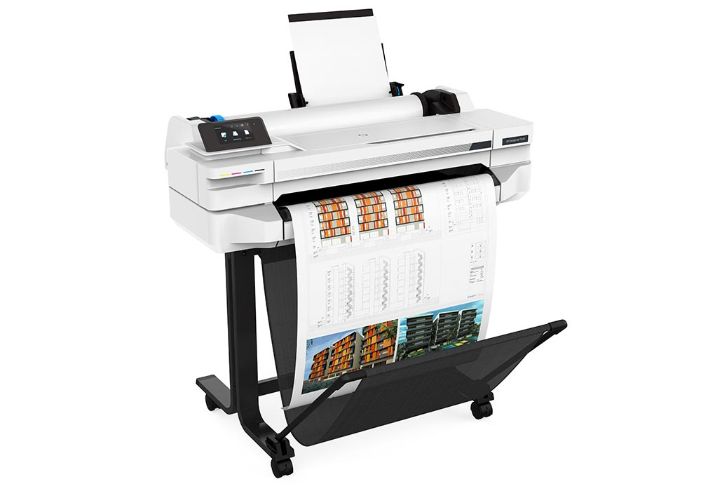 line printers –the HP DesignJet T500 24-in series.