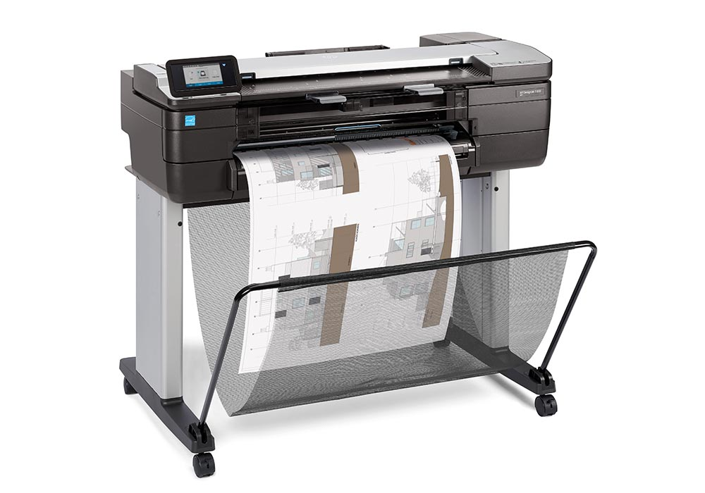 line printers – the HP DesignJet T830 24-in MFP.