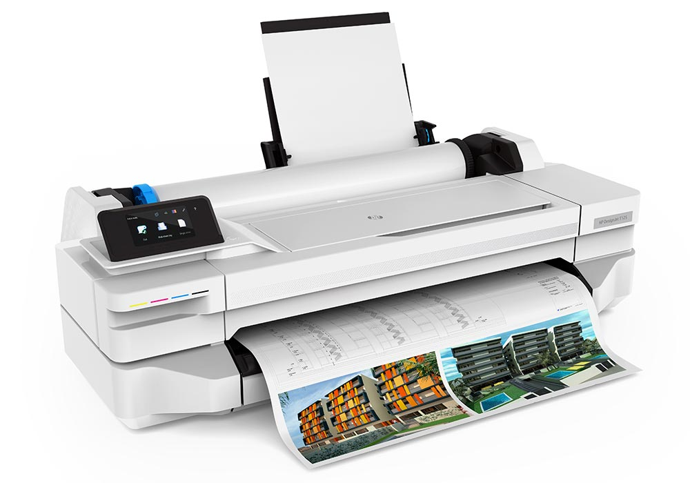 PDF printing – the HP DesignJet T125 24-inch printer with free HP Click software for fast PDF printing.