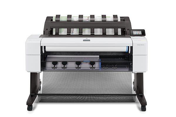 HP DesignJet T1600 dual-roll printer.