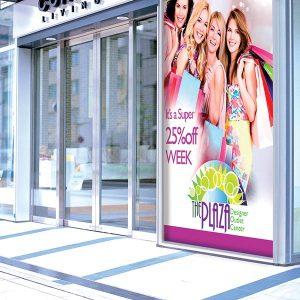 vinyls – Drytac gloss, bubble-free vinyl applied to a shop window.