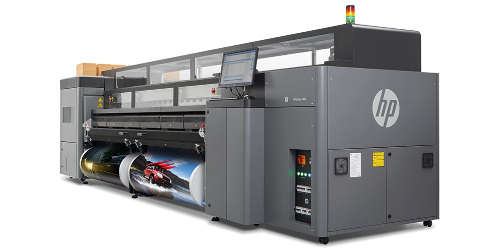 high volume printers – the HP Latex 3600
